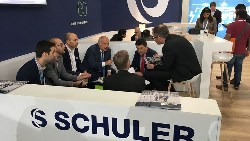 Interesting new contacts at the LIGNA | SCHULER Consulting