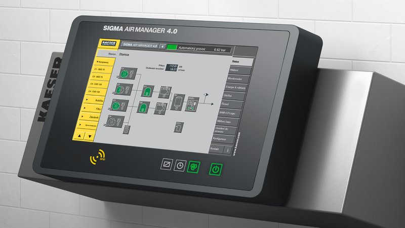 KAESSER Sigma Air Manager 4.0 control system